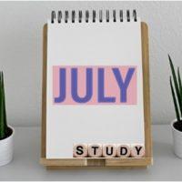 社労士勉強方法7月