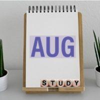社労士勉強方法8月