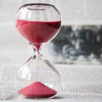 社労士試験の過去問を解く時間